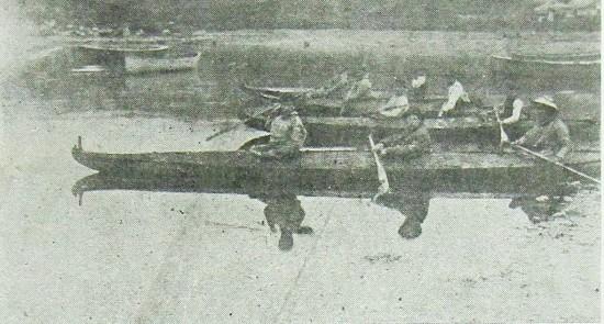 Baidarkas Fleet Leaving Akhiok