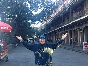 Promenade in New Orleans